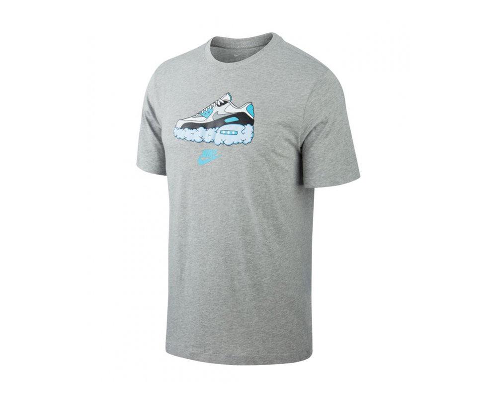 Nike Sportswear Air Max 90 Tee Dark Grey CV0071 063