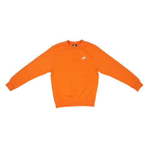 NWS Club Crewneck   Magma Orange White BV2662 812