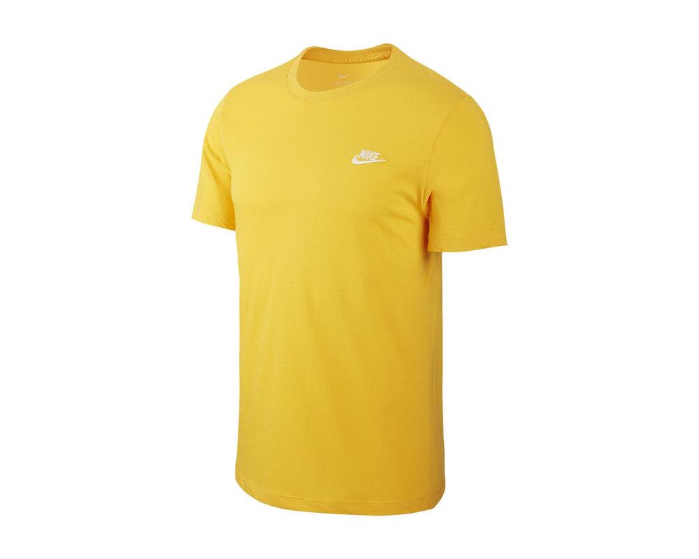 Nike NSW Club Tee  University Gold White AR4997 739