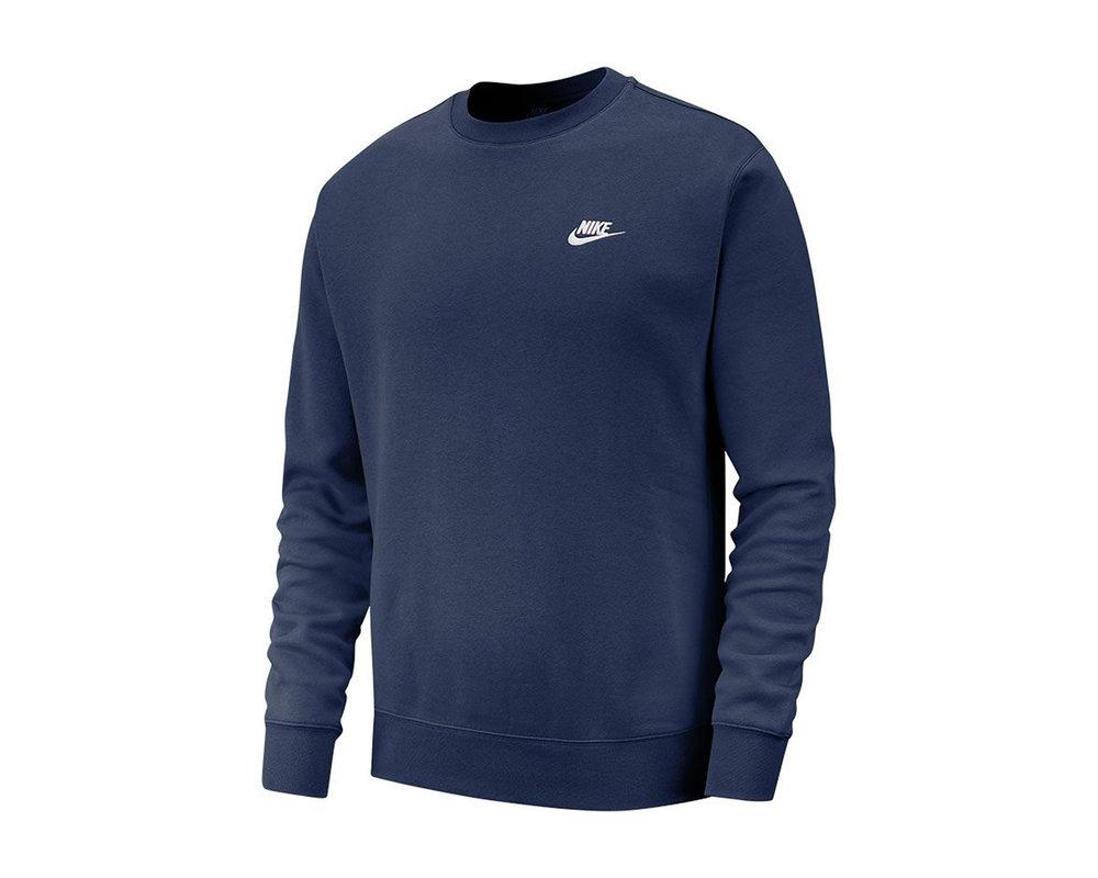 Nike NSW Club Crewneck Midnight Navy BV2662 410