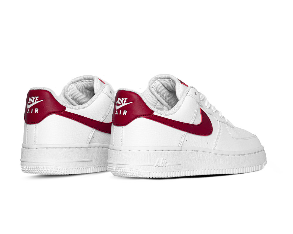 Nike Air Force 1 '07 White Noble Red 315115 154