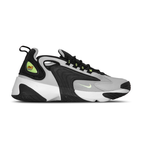 Zoom 2K Black Barely Volt Grey Fog White AO0354 007