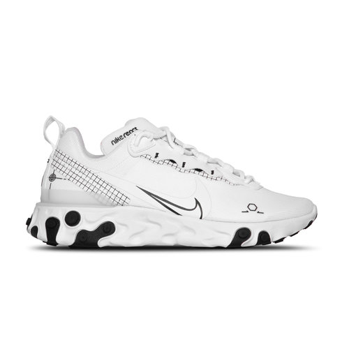 React Element 55  White Black CU3009 100