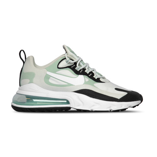 Air Max 270 React  Spruce Aura White Pistachio Frost Black CI3899 001