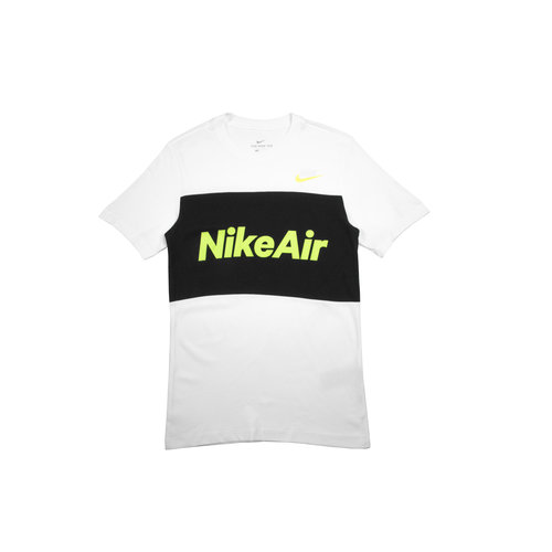 Air Tee White Black CV2210 100