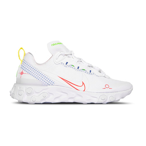 React Element 55 White Laser Crimson Racer Blue  CU3009 101