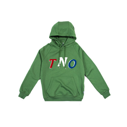 TNO Fabric Hoodie Green Multi Color TNO11