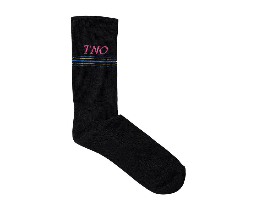 The New Originals The New Originals Underline Sock Black Pink TNO 15