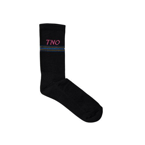 The New Originals Underline Sock Black Pink TNO 15