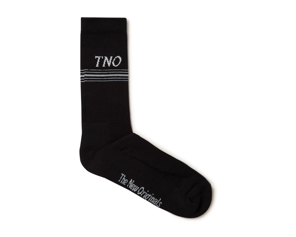The New Originals TNO Underline Sock Black Grey TNO 14