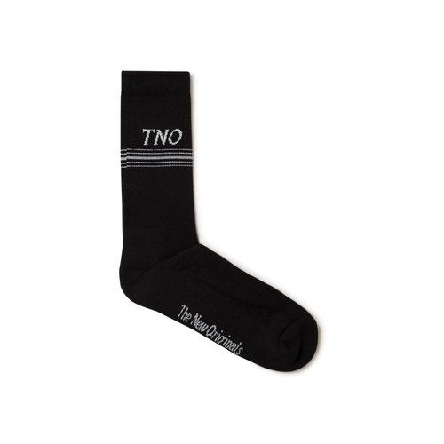 TNO Underline Sock Black Grey TNO 14