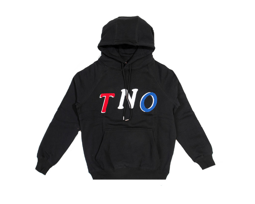 The New Originals TNO Fabric Hoodie Black Pink TNO 12