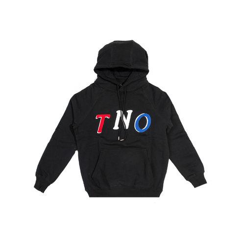 TNO Fabric Hoodie Black Pink TNO 12