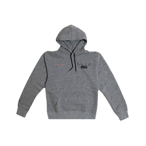 Jordan Why Not Hoodie Carbon Heather CW4254 091