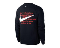Nike NSW Swoosh Crewneck Black White CJ4865 010