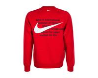 Nike NSW Swoosh Crewneck University Red CJ4865 657