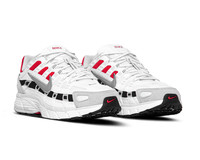 Nike P 6000 White Particle Grey University Red  CV3038 100