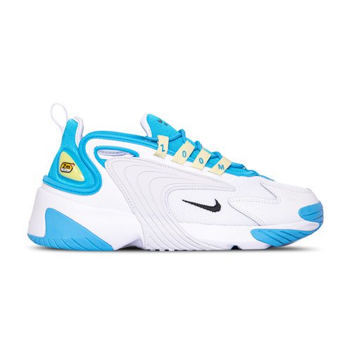 WMNS Zoom 2K Blue Fury Black White Limelight AO0354 401