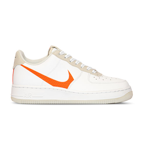 Air Force 1 '07 LV8 3 White Total Orange Summit White Black CD0888 100