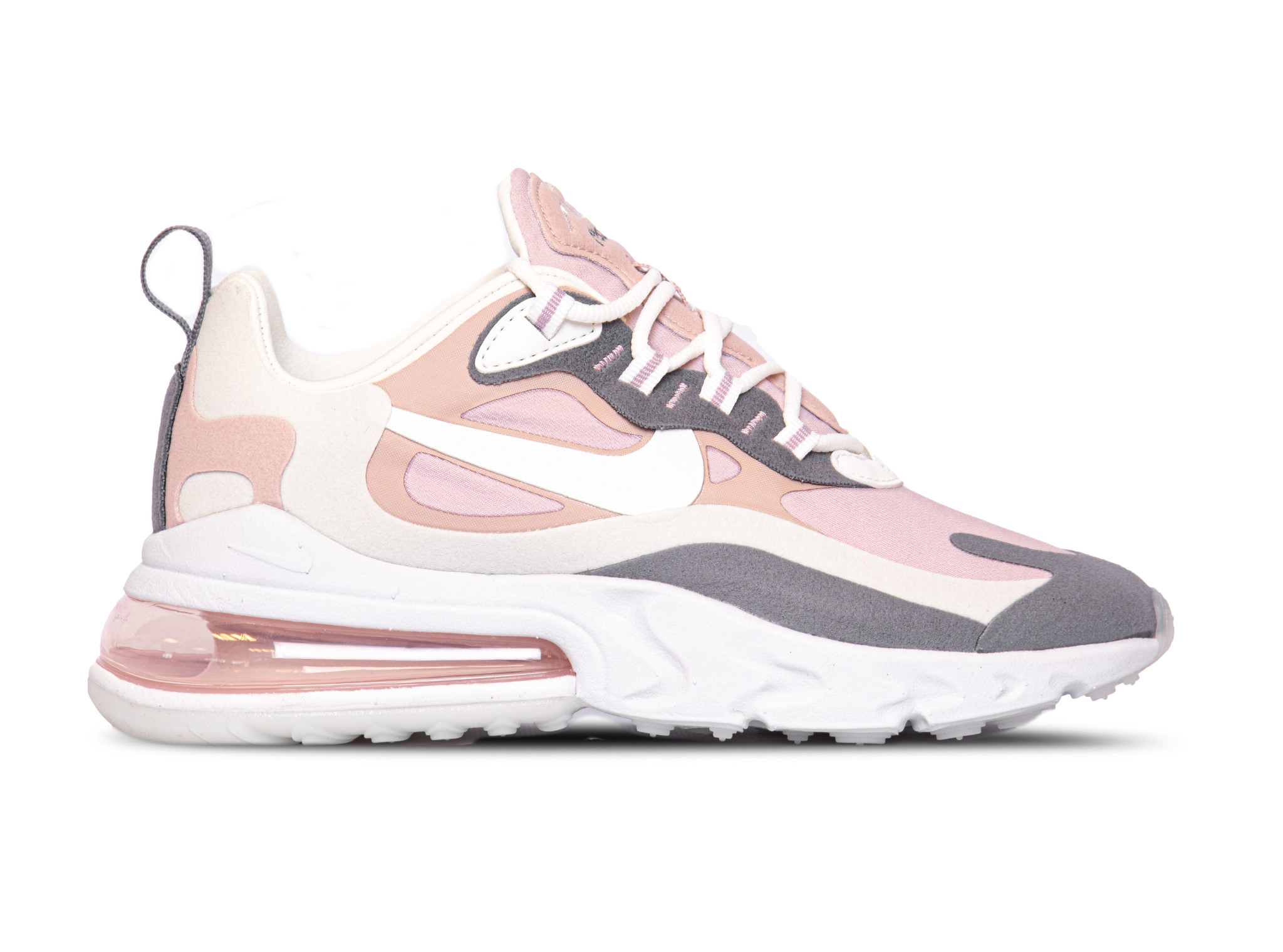 Nike Air Max 270 React Plum Chalk Summit White Stone Mauve CI3899 500