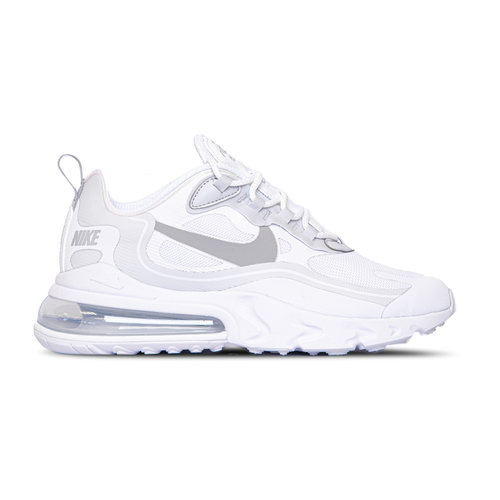 Air Max 270 React White Pure Platinum Cool Grey Light Smoke Grey CV1632 100