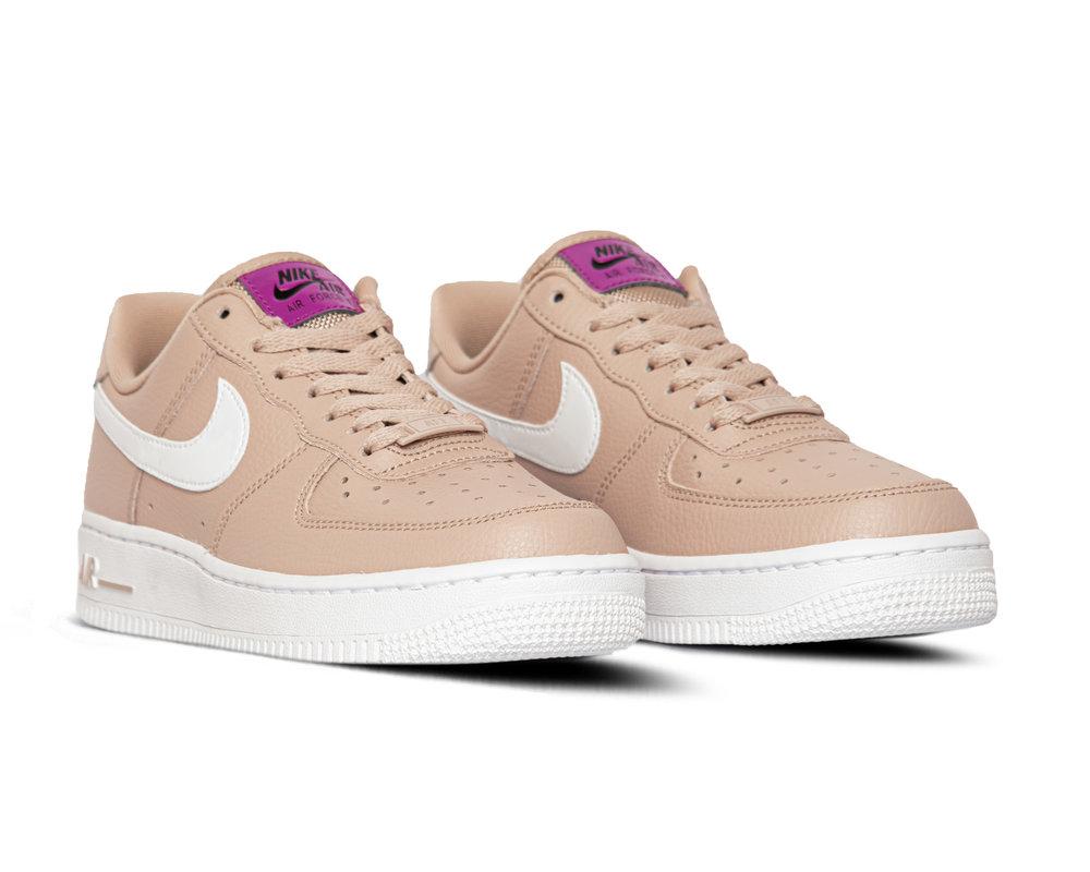 Nike Air Force 1 '07 SE Stone Mauve White Vivid Purple CI3446 200