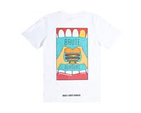 Bruut x Brute Burgers Anniversary Tee White HFD121