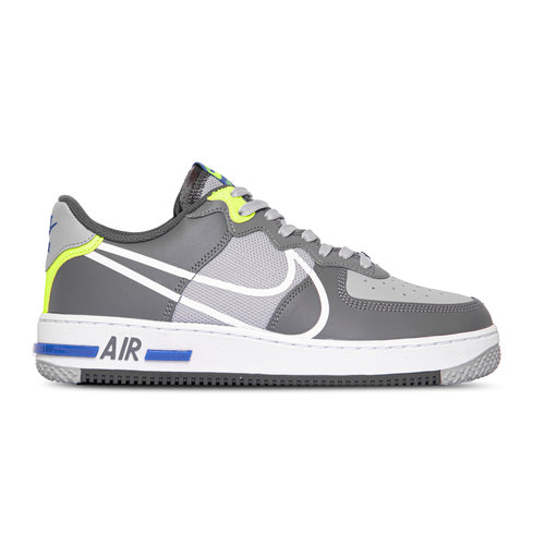 Air Force 1 React Wolf Grey White Smoke Dark Grey  CD4366 002