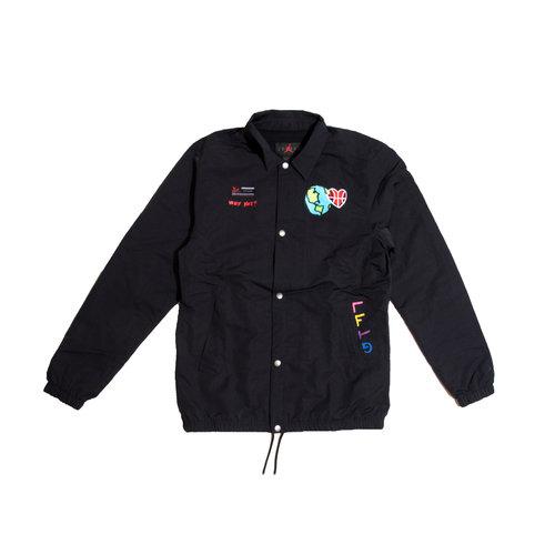 Jordan Why Not Jacket Black Hyper Pink CW4267 011