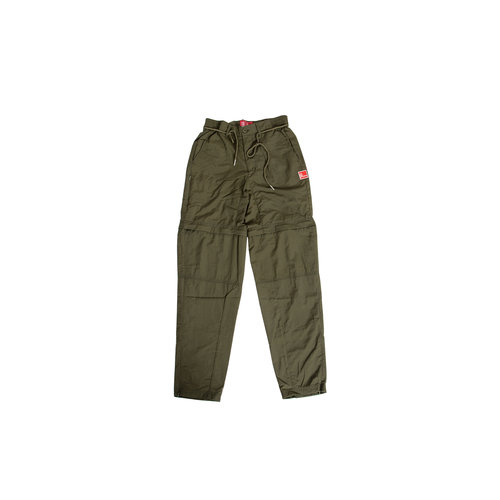 Parachute Nylon Trousers Dark Green TNO 18