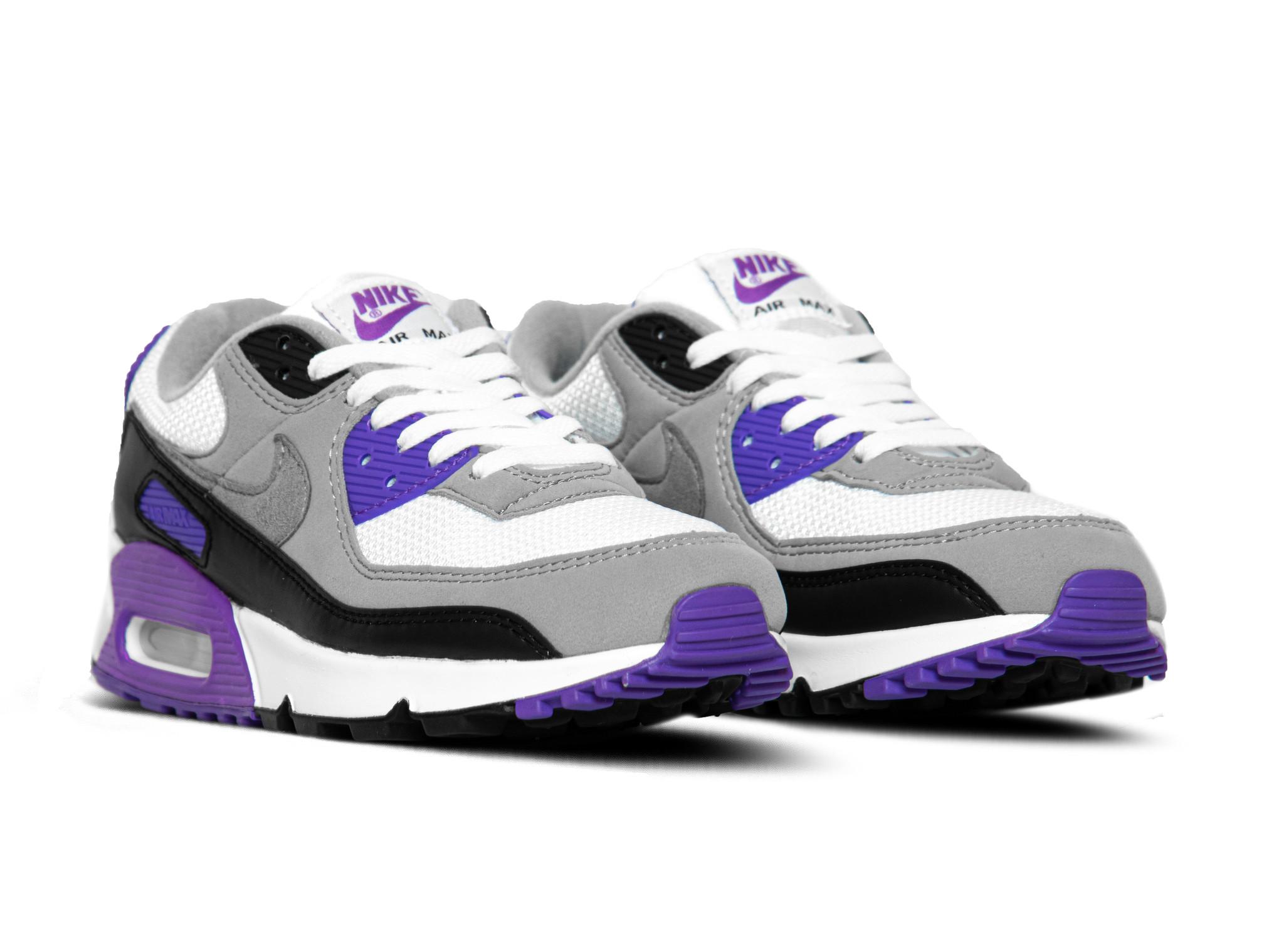 Nike Air Max 90 Particle Grey Hyper Grape CD0881 104