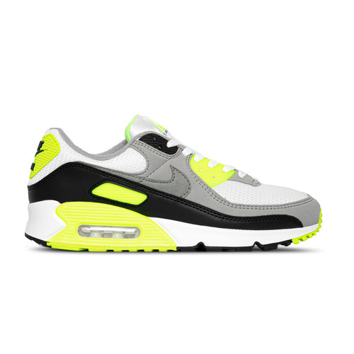 Air Max 90 White Particle Grey Volt Black CD0881 103