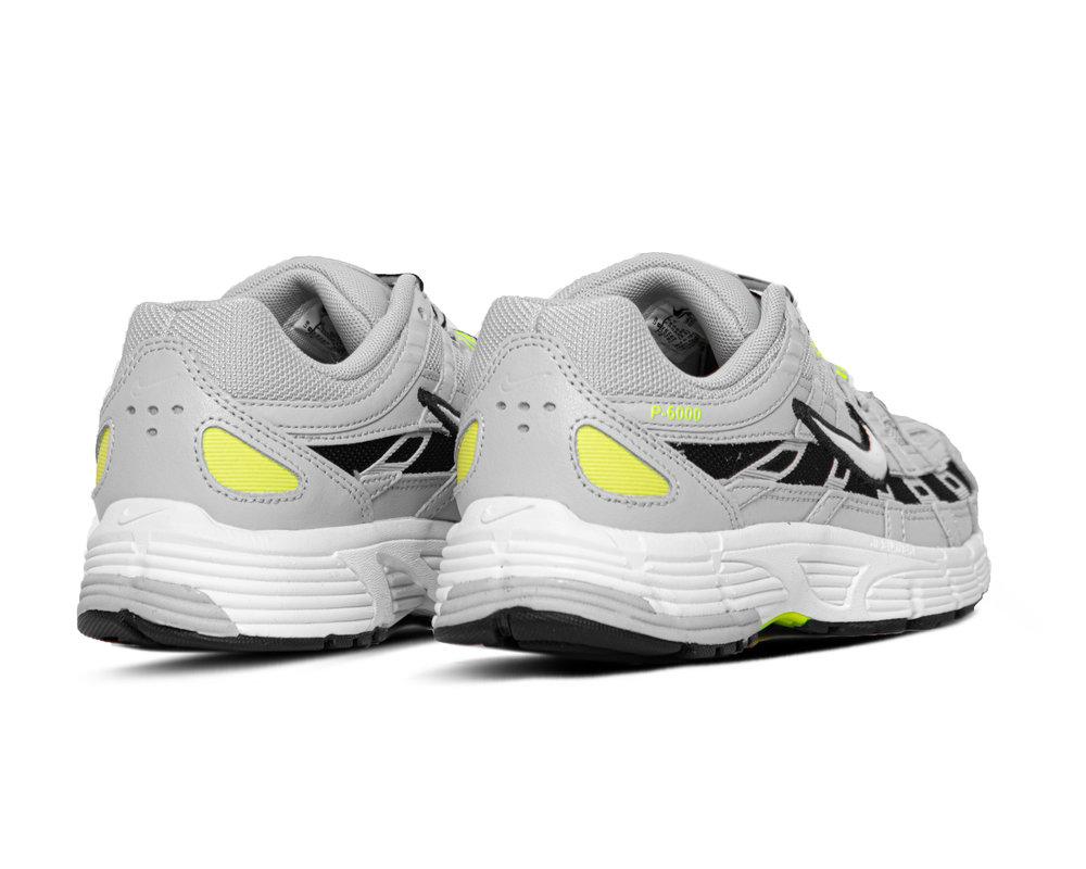 Nike P 6000 Sky Grey White Lemon Venom Black BV1021 008