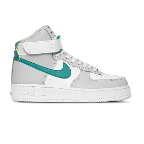 W Air Force 1 High Grey Fog Neptune Green Summit White 334031 015