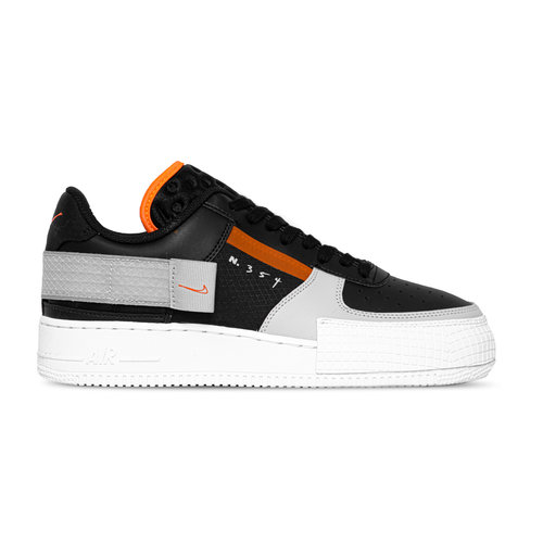 Air Force 1 Type Black Hyper Crimson Wolf Grey White CQ2344 001