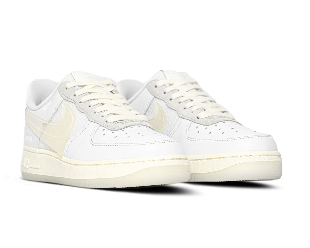 Nike Air Force 1 '07 LV8 White White Sail Black CV3040 100