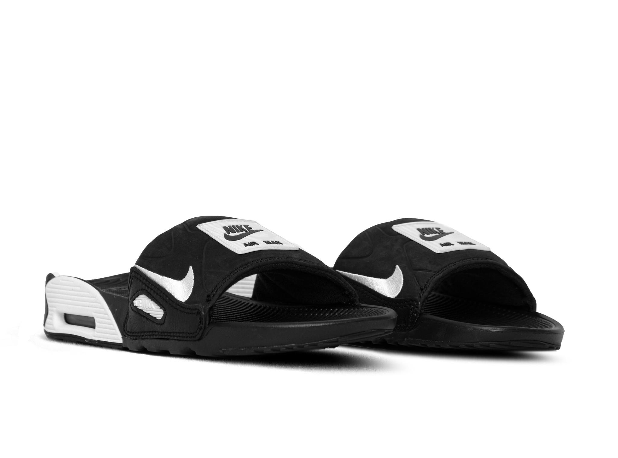 Nike W Air Max 90 Slide Black White CT5241 002