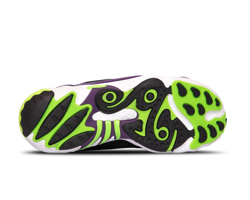 Adidas FYW 98 WhiteCloud White Glow Purple Solar Green EG5196