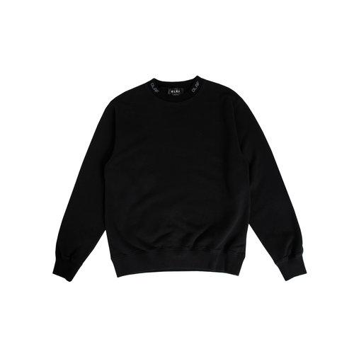 Branded Rib Crewneck Black SS20 0023