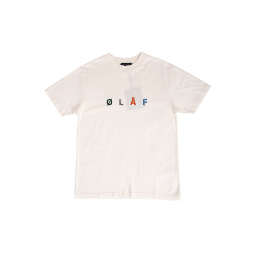 Chainstitch Tee White SS20 0001
