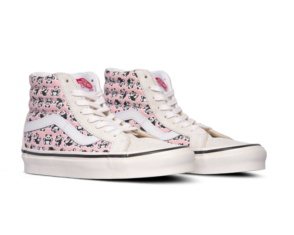 Vans SK8 Hi 38 Dx Anaheim Factory OG Pandas OG White OG Pink VN0A38GFXHJ