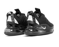 Nike MX 720 818 Black Metallic Silver Black CI3871 001