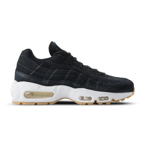 Air Max 95 PRM Black Black Muslin White 538416 004