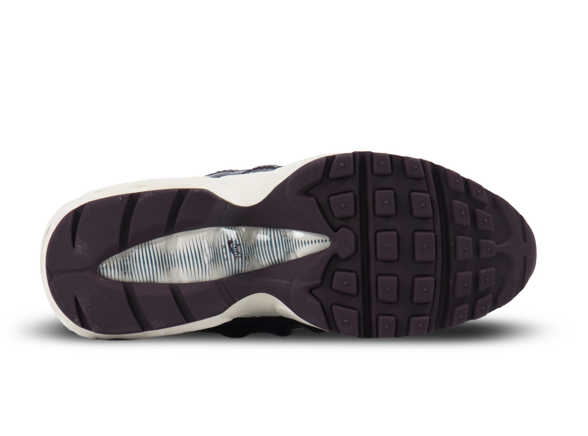 Nike Women's Air Max 95 Port WineBordeaux White 307960 602
