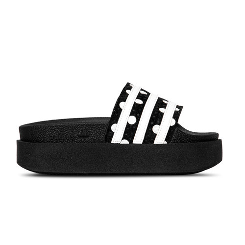 Adilette Bold W Black White Black EF5631