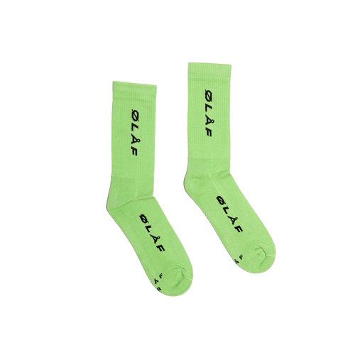 OLAF Italic Socks Green