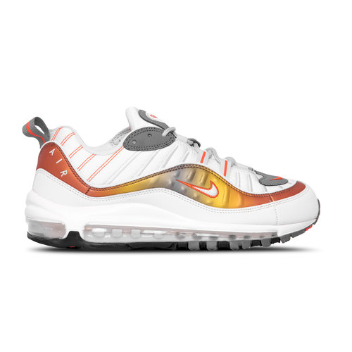 Air Max 98 SE Vast Grey Summit White Team Orange CD0132 002