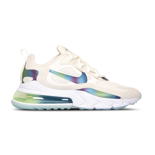 Air Max 270 React Summit White Multi Color Platinum Tint CT5064 100