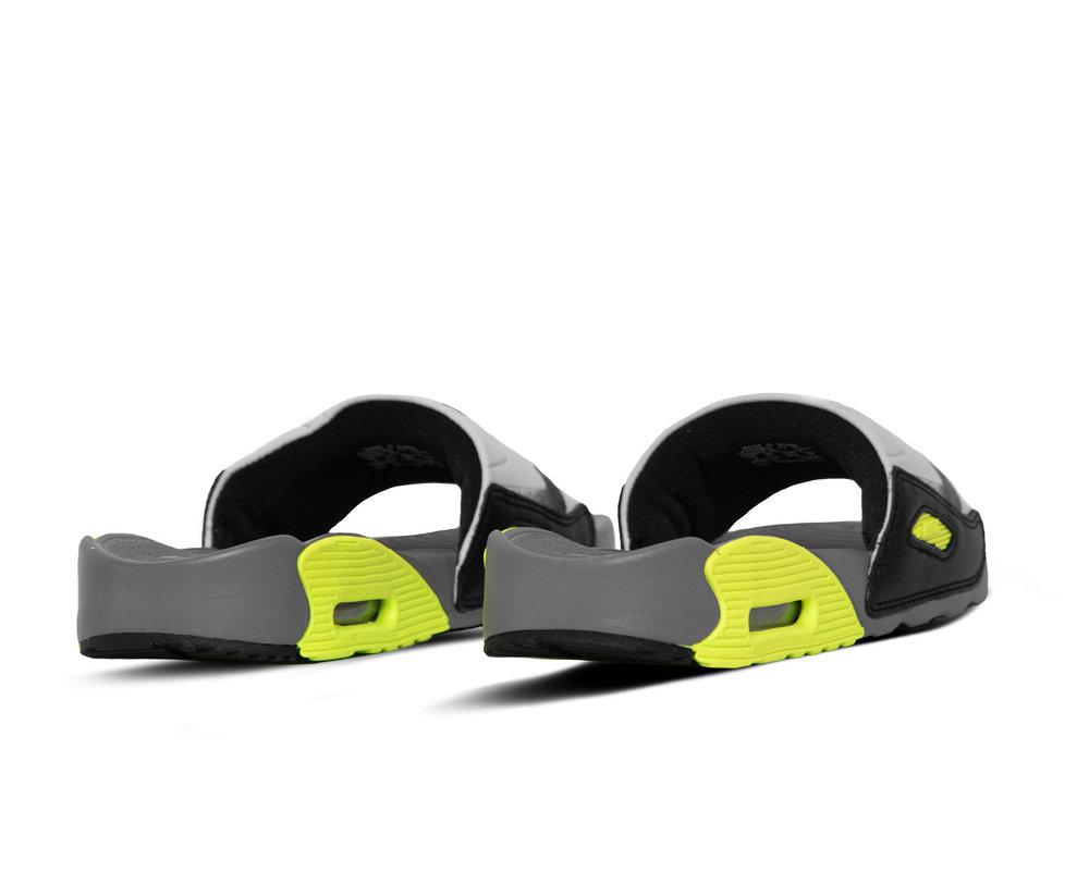 Nike W Air Max 90 Slide Smoke Grey Volt Black CT5241 001