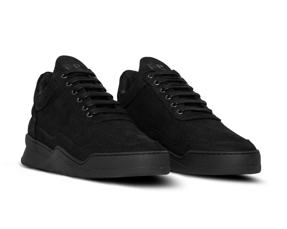 low top ghost microlane all black